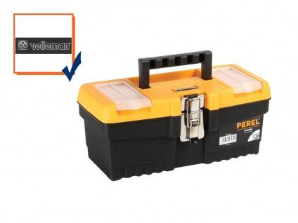 Werkzeugkiste, Werkzeugkasten, Werkzeugkoffer, Werkzeugbox 320 x 155 x 139 mm