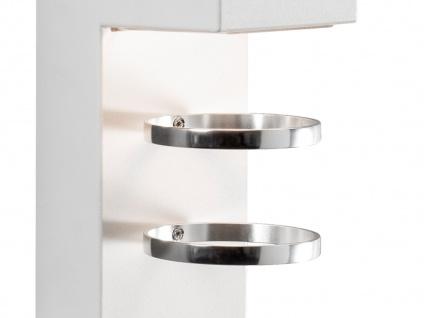 2er-Set Außenwandleuchten ACERRA, weiß, 5 Watt LED, 400 Lumen, IP54 - Vorschau 3