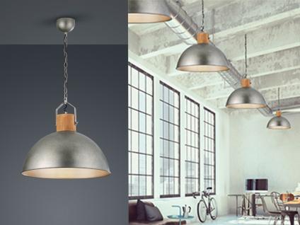 Halbkugel Pendelleuchte einflammig, Lampe über Couchtisch skandinavisches Design