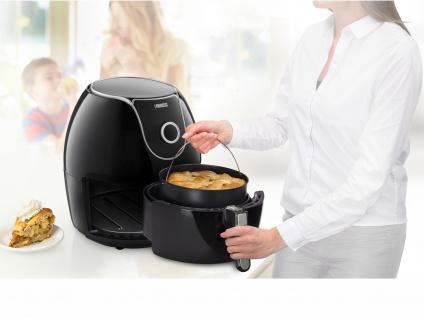 XXL Heißluftfritteuse Crispy Fryer Umluft Friteuse Frittieren ohne Öl 5, 2 Liter - Vorschau 2