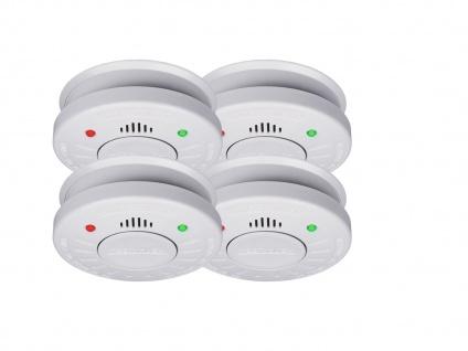 4er Set ELRO Rauchmelder 10 Jahre Batterie VdS Zertifiziert, Küchen geeignet - Vorschau 2