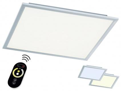 LED Deckenlampe 60cm Paneel flach mit Fernbedienung für Farbtemperatur & Dimmen