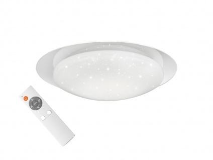 LED Deckenbeleuchtung mit Fernbedienung dimmbar Farbtemperatur einstellbar Ø48cm