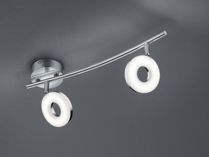 LED Deckenstrahler schwenkbar für Innen Chrom mit Lichtspot Wandlampe rund Büro