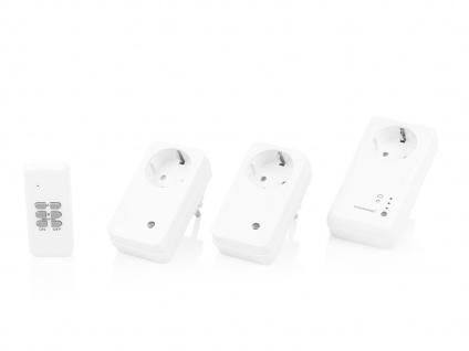 WLAN Steckdosen-Set + 2 Funksteckdosen und Fernbedienung / App Steuerung - Vorschau 2