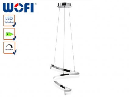 LED Pendelleuchte dimmbar, Chrom poliert, Wofi-Leuchten - Vorschau 3