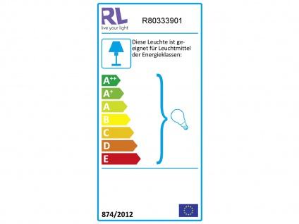 LED Deckenstrahler 3 flammig mit Stoffschirm in Weiß - schwenkbarer Wandstrahler - Vorschau 4