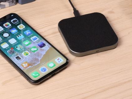 QI Induktionsladegerät Ladepad für Smartphone - Wireless Charger iPhone Samsung