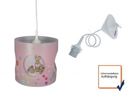 Selbstdrehende Kinderzimmerlampe Bungee Bunny LED Licht Kinderlampe Hängeleuchte - Vorschau 3