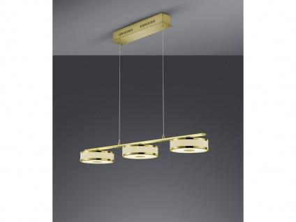 LED Hängeleuchte mit Stoff/Acryl Schirmen in weiß Switch Dimmer Höhenverstellbar