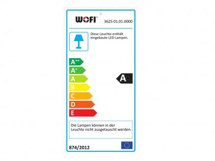 LED Stehleuchte mit Touchdimmer, Chrom / Acryl, Wofi-Leuchten - Vorschau 3