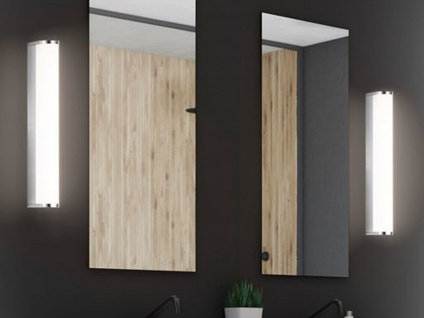 2x LED Wandlampen 30cm für Badezimmer über Badspiegel Badlampen Spiegelleuchten - Vorschau 1