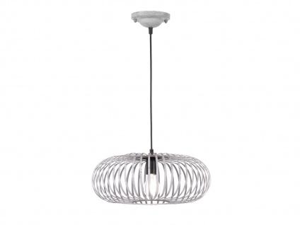 Modernes Pendel für Innen -Wohnzimmerleuchte & Schlafzimmerlampe, grau Antik Look - Vorschau 1