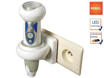 Wiederaufladbare LED Taschenlampe Nachtlicht + SOS, Taschen Lampe Notlicht
