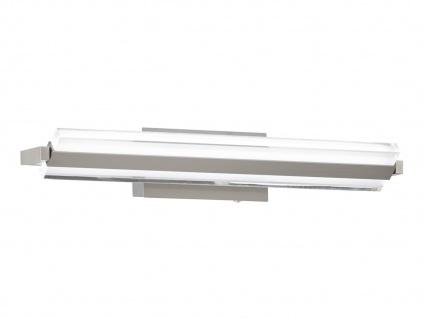 Verstellbare Design LED Wandlampe 46cm mit Schalter für Dimmen & Farbwechsel