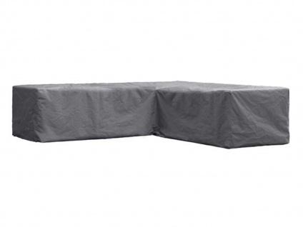 Schutzhülle Abdeckung L-förmig für Loungemöbel, 250x250cm, Abdeckplane Lounge