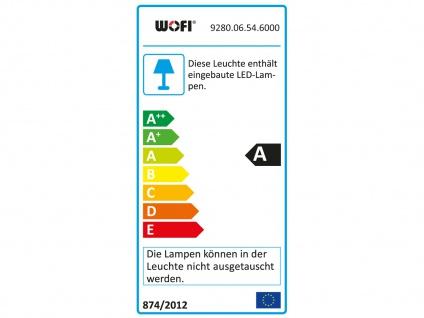 6-flammige LED Deckenleuchte DIVINA, L. 163cm, dimmbar, Deckenlampen Spotleiste - Vorschau 4