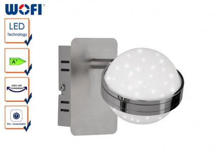 LED Wandspot MONDE, Sternendesign, Wandleuchte Wandlampe LED Spot Design - Vorschau 1
