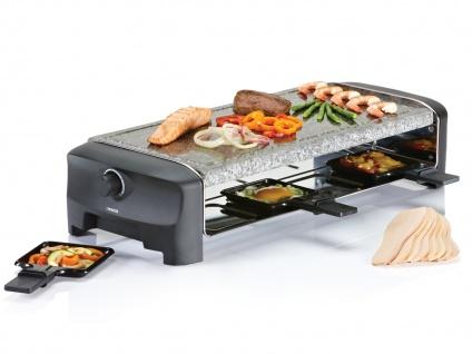 PRINCESS Raclette mit Steinplatte - Natursteingrill - Tischgrill für 8 Personen