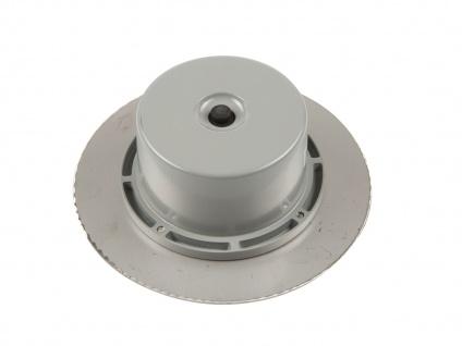 LED Solar Bodeneinbaustrahler, rund, gebürstetes Edelstahl IP67 RANEX - Vorschau 3