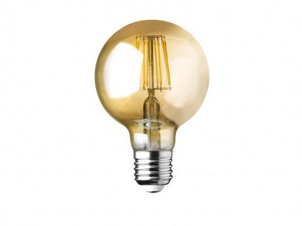 Dimmbare Filament LED Goldfarbig E27 Leuchtmittel Glühlampe - 6W 680lm 3000K