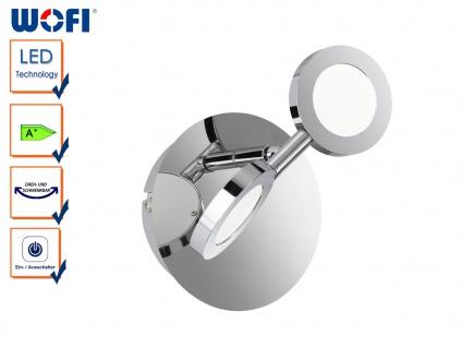 LED Wandleuchte JOYCE, schwenkbar, Schalter, Wandleuchten Wandlampen LED Spot
