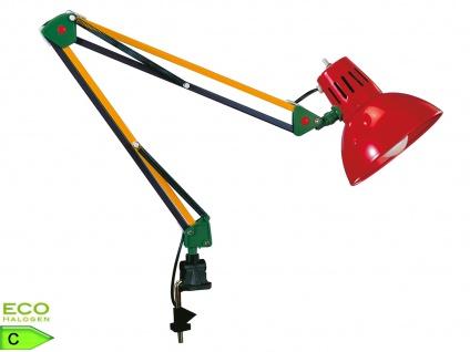 TRIO Gelenkleuchte/Klemmlampe, E27, Höhe 90cm verstellb. multicolor