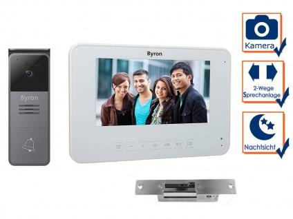 Einfamilienhaus Video Türgegensprechanlage mit Kamera, 7 Zoll Display, Türöffner