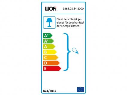 Retro LED Desing Deckenleuchte Nickel matt/Chrom Industrie Look fürs Wohnzimmer - Vorschau 3