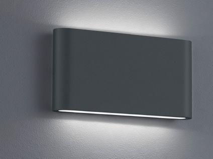 LED Außenwandlampen SET Anthrazit mit Up and Down Wandleuchten für Außenbereich - Vorschau 5