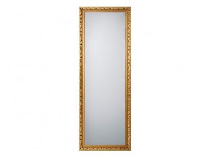 Barock Wandspiegel mit Holzrahmen Gold Ganzkörperspiegel für Flur & Garderobe