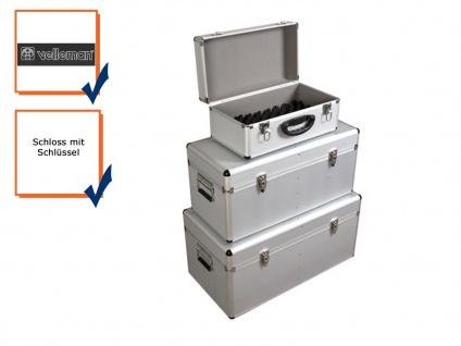 Werkzeugkoffer Werkzeugkiste Werkzeugkasten Aluminium Case 3-teilig