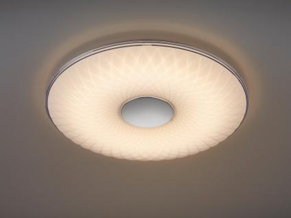 Flache LED Deckenleuchte Tageslichtlampe mit Nachtlichfunktion für große Räume