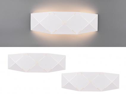 Ausgefallene coole LED Wandleuchten, flache Wandlampen für Treppenhaus Innenwand
