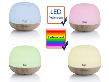 XL Aroma Diffusor 500ml mit 5 LED Farben Duftlampe Luftbefeuchter Duftöllampe - Vorschau 4