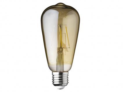 FILAMENT LED Birnenform Glas E27 A+ Dimmbar 3 Watt, 300Lm 2700K Ø6, 5cm