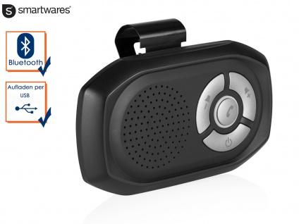 Bluetooth Auto Kit Freisprechanlage, Handsfree Freisprecheinrichtung, Laden USB - Vorschau 1