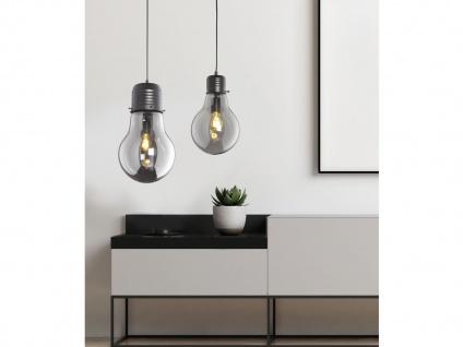 Coole Pendelleuchte LOUIS Ø28cm - Retro Hängelampe Design Glühbirne für Esstisch - Vorschau 5