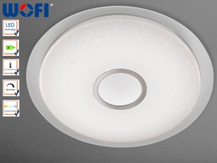 LED Deckenleuchte m. Fernbedienung, Nachtlicht, Wofi-Leuchten