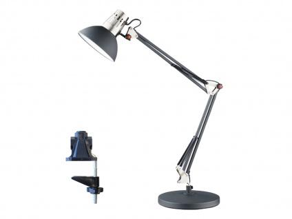 LED Schreibtischlampe Klemmleuchte schwarz, Leselampe Büro Schreibtisch Wohnraum