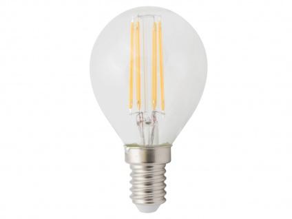 FILAMENT-LED Globe E14, 4 Watt, 400 Lumen, 2700 Kelvin, warmweiß