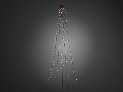 Lichterkette für Innen 200 LED´s Weihnachtsbaum Beleuchtung Christbaum Haus - Vorschau 3