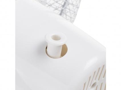 Kleiner Oszillierender Tischlüfter Ø 23cm ? Zimmerventilator Camping geeignet - Vorschau 4