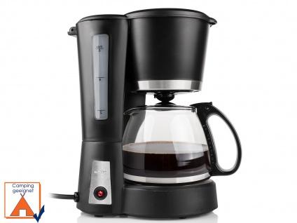 Stilvolle Kaffeemaschine für 6 Tassen Kaffee inklusive 0, 6 L Glaskanne