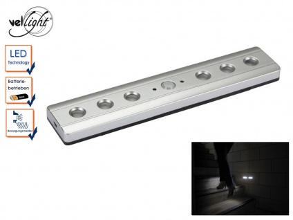 LED Orientierungslicht batteriebetrieben mit PIR Sensor, Notlicht Treppenleuchte
