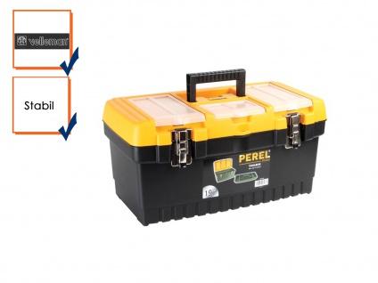 Werkzeugkiste Werkzeugkasten Werkzeugkoffer Kunststoff 486x267x242mm