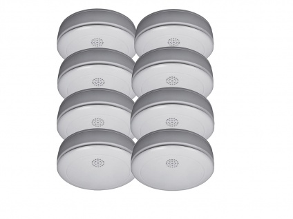 8er SET Rauchmelder 10 Jahres Batterie, VdS zertifiziert-Q-Siegel, Feuermelder - Vorschau 2