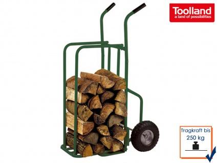Stapelkarre bis 250kg für Kaminholzwagen Brennholzwagen Brennholzkarre Handwagen