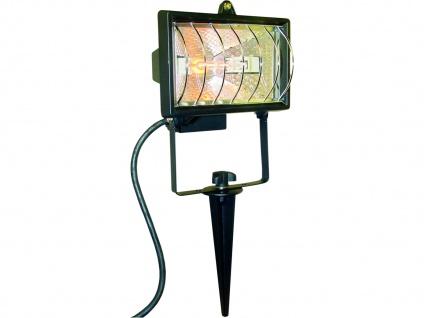2er Set LED Außen Lampen SOLAR Feuer Effekt Terrassen Erdspieß Außen Leuchten