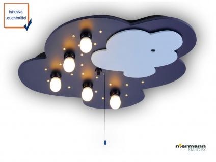 Innovative LED Kinder Deckenleuchte NANNY, Visuelles Babyphone über Smartphone